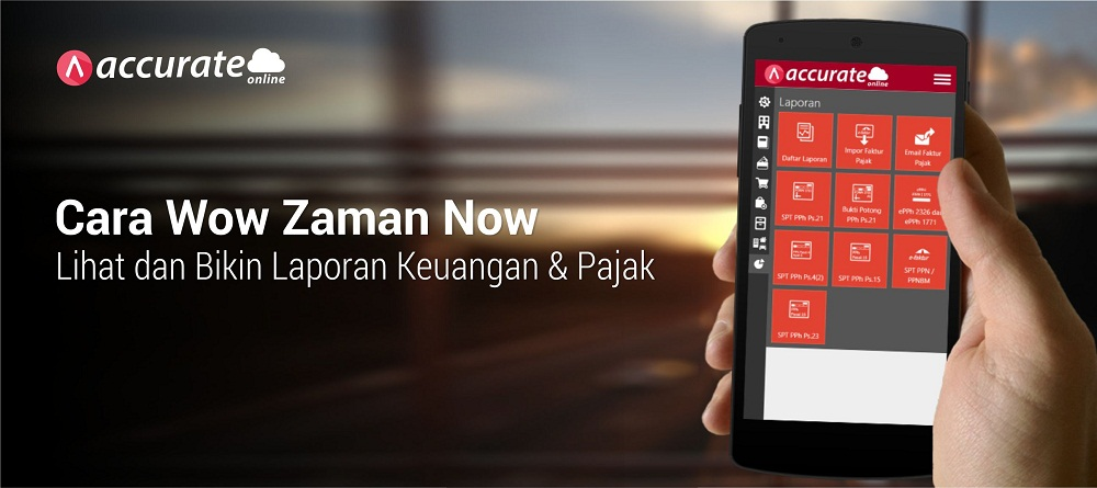 Accurate Online Pembukuan Zaman Now